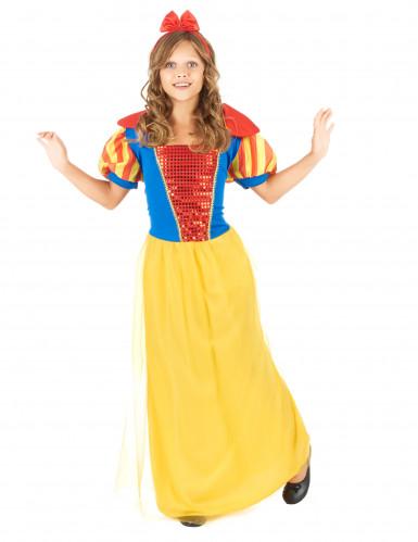 Disfraz de princesa de cuento de hadas para ni�a