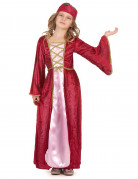 Disfraz de reina medieval para ni�a