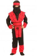 Disfraz de ninja ara�a para ni�o, ideal para Halloween