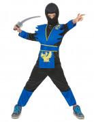 Disfraz azul de ninja para ni�o