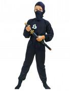 Disfraz negro de ninja comando para ni�o