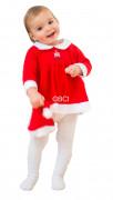 Disfraz de beb� Noel para ni�a