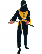 Disfraz amarillo de dragon ninja para ni�o