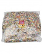 Lote de 10 bolsas de 100 g de confettis