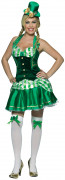 Disfraz irlandesa para mujer