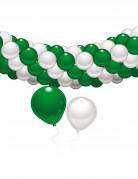Kit de decoraci�n verde y blanco