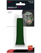 Maquillaje de gel verde