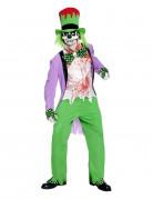Disfraz de payaso mal�fico Halloween