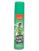 Spray para cabello y cuerpo de color verde