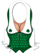 Delantal de pl�stico mujer irlandesa