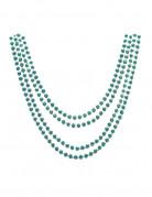 4 collares verdes metalizado