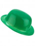 Sombrero mel�n verde adulto