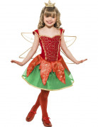 Disfraz elfo hada Pap� Noel ni�a