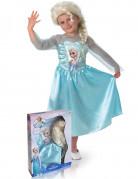 Disfraz de Elsa Frozen con peluca ni�a